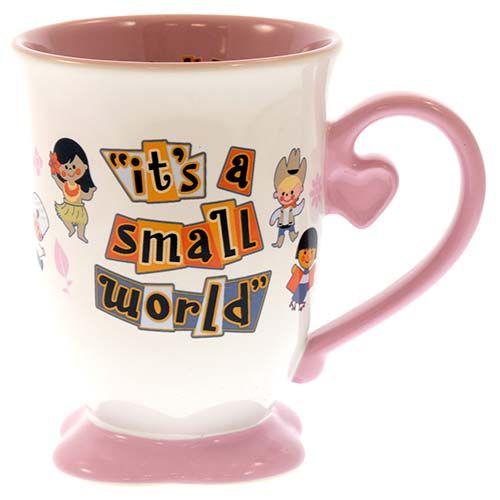 "Disney, ""It's a Small World"" coffee mug"