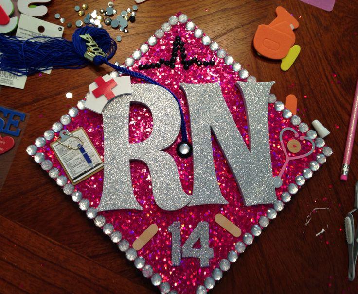Just Graduated Nursing School Graduation 2017