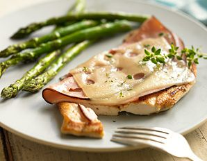 Biggest Losers Chicken Cordon Bleu in 20 minutes - Only 193 Calories
