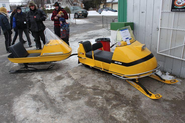 Olympic Ski Doo and Skiboose Vintage sled, Snowmobile