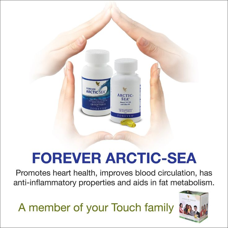 Forever arctic sea --> improve blood circulation!