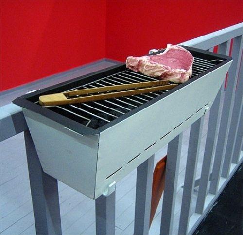 Barbecue portable sur le balcon: conseils utiles et astuces