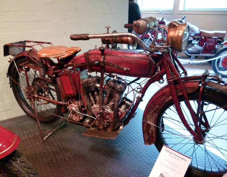 Indian in the Finnish Motorcycle Museum in Lahti