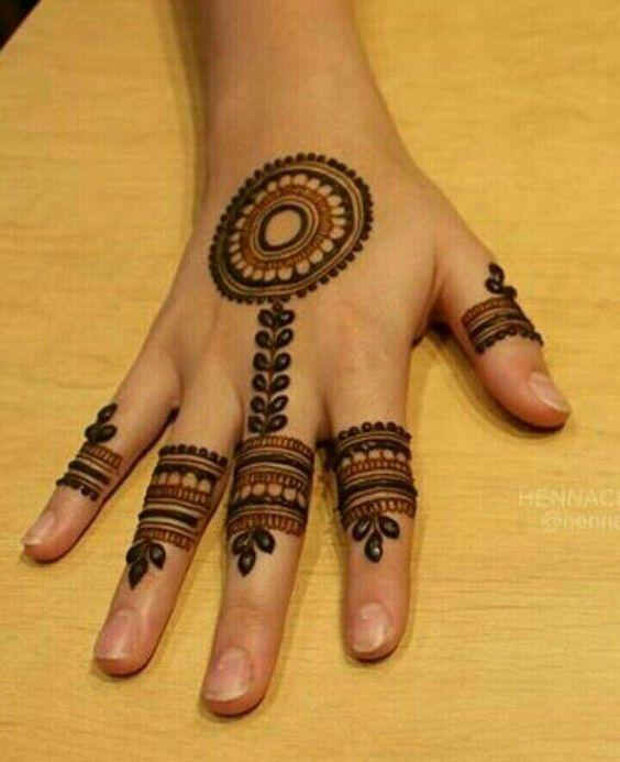 Beauty Of Mehndi Elegant Styles Of Henna Tattoos Mehndi Designs