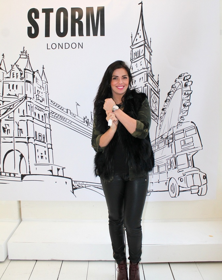 Reality Ster Laura Ponticorvo voor STORM London