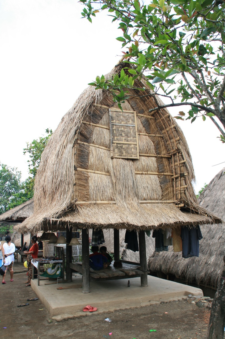 Sasak Traditional House, Lombok-Indonesia
