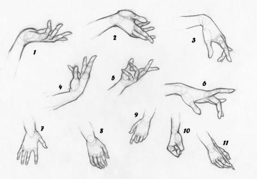 Imagen de anime, hand, and manga