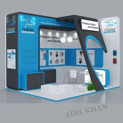 3d Exhibition Stand Design Software : D stall design by adil khan at coroflot exhibition