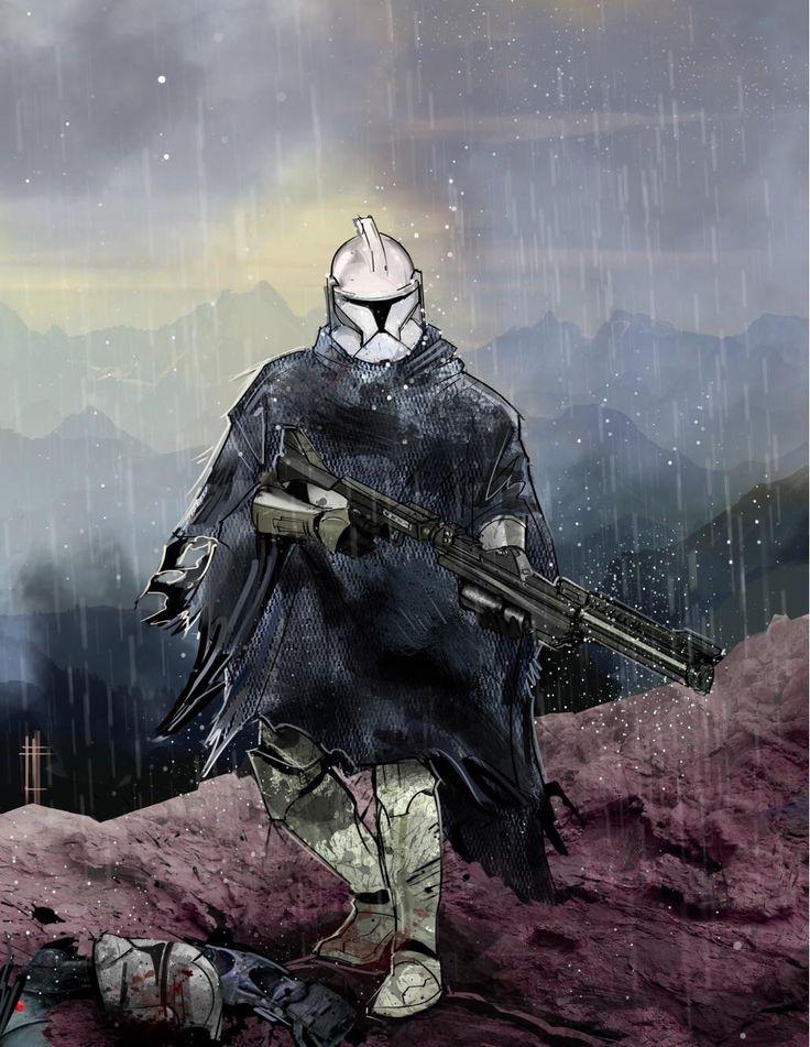Phase 1 Clone Trooper Commission. : StarWars