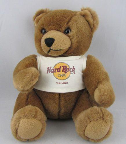 Hard Rock Cafe Teddy Bear Collection