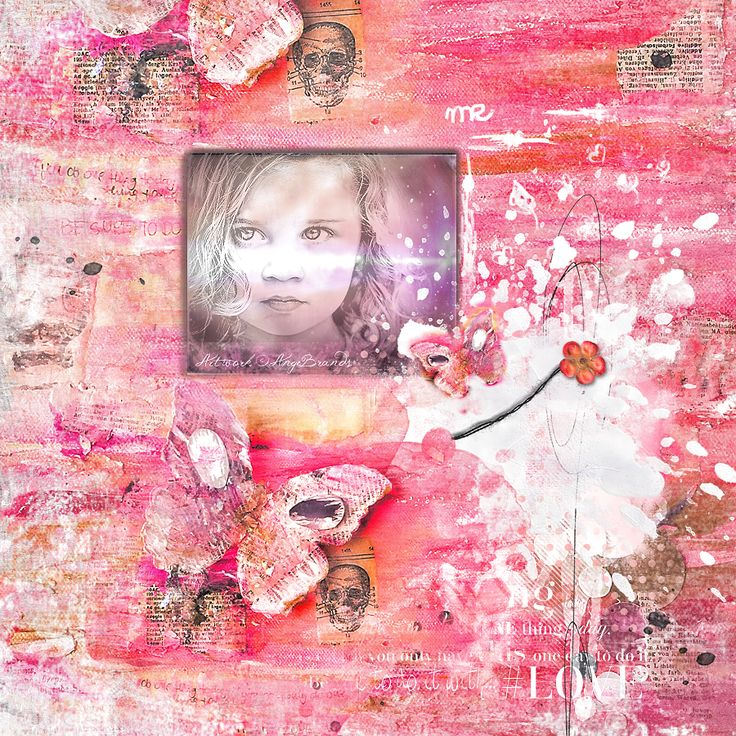 A GIRL CALLED LOVE... ARTWORK ©AngeBrands...All rights reserved  Credits .....One Thing by NBK-Design Photo Marta Everest... Used with Permission