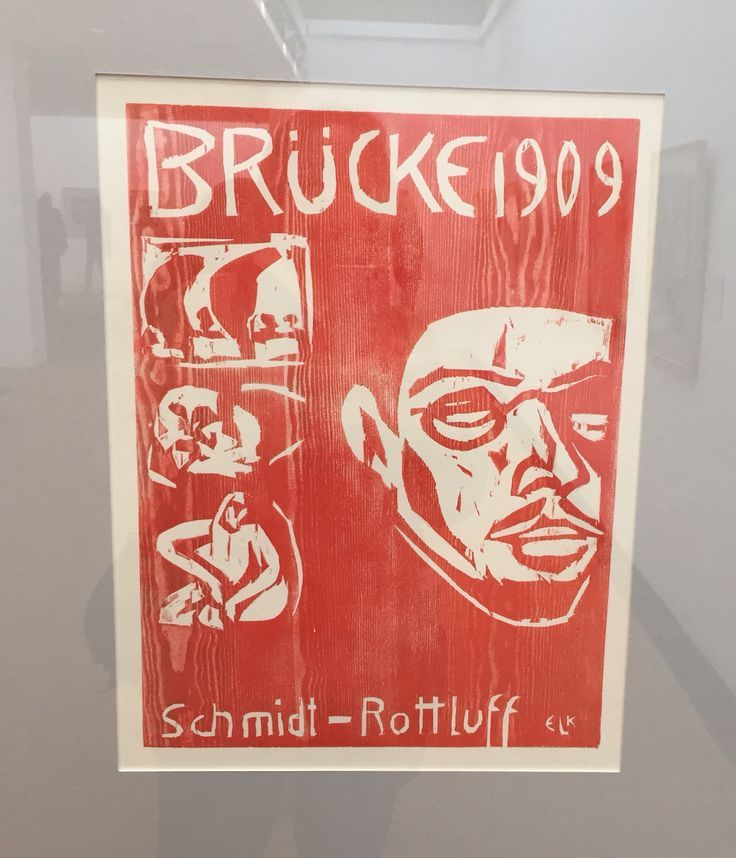 Karl Schmidt-Rotluff  Ausstellung Brücke Museum Berlin