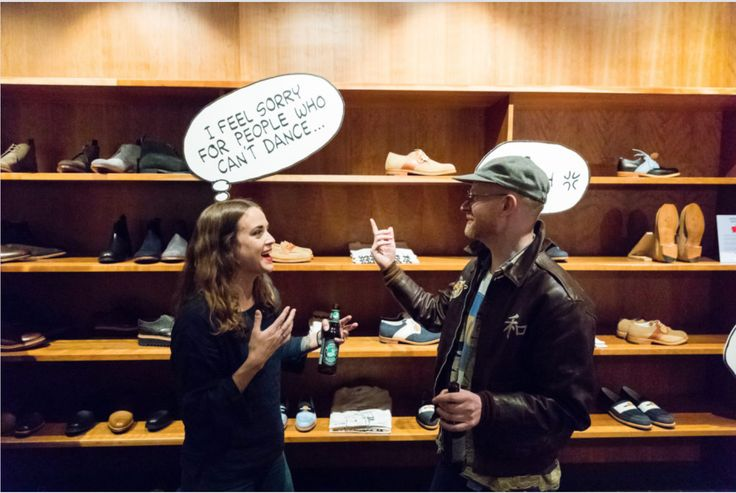 Peanuts Collection Launch Party // Grenson x TSPTR