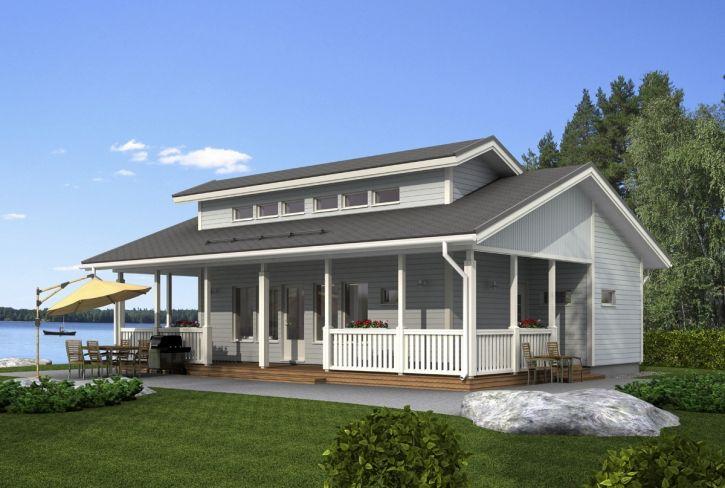 Pienelle perheelle – Solaranta: 65 m², 2 makuuhuonetta