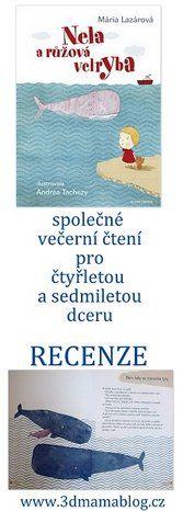 Nela a růžová velryba, recenze na www.3dmamablog.cz