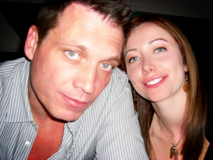 Holt McCallany and girlfriend Nicole Wilson - actors - artists - Celebrity Relationships