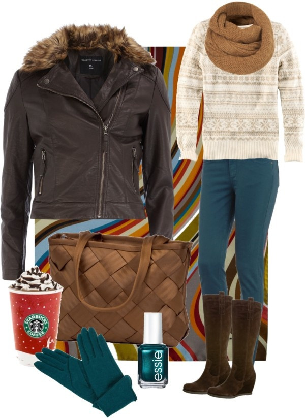 """teal pants and copper"" by alysia123 on Polyvore"