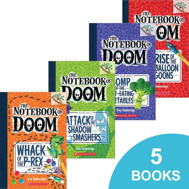 The Notebook of Doom #1–#5 Pack