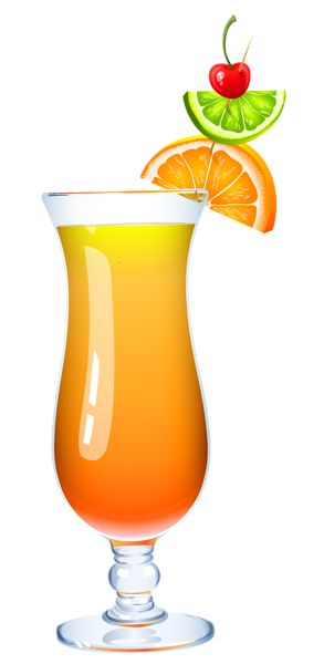 Exotic Cocktail PNG Clipart Picture