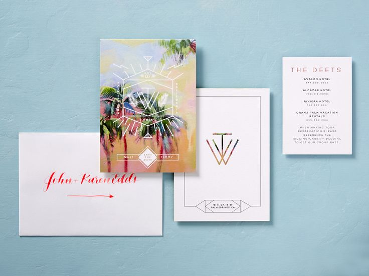 WE ♥ THIS!  ----------------------------- Original Pin Caption: Whitney Port Wedding Invitations