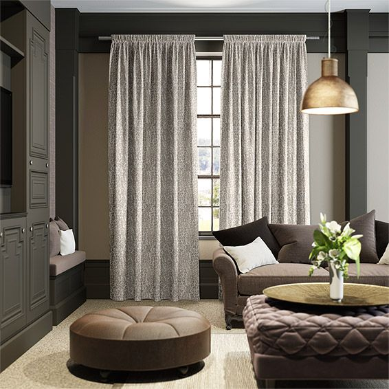 Matilda Neutral Curtains from Blinds 2go
