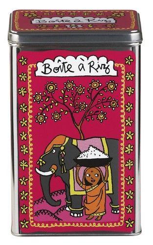 keladeco.com - #boite a #riz, idée deco cuisine, boite valérie nylin, boite derriere la porte - DLP