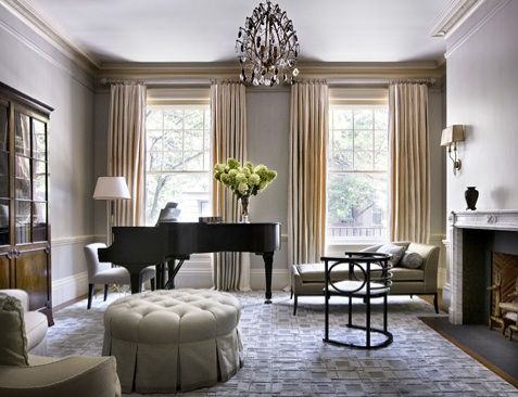 pictures of rooms with pianos | Slipcovers for Your Walls » Blog Archive » Inspiration For Your Baby ...