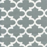 9.98 Fulton Cool Grey Contemporary Drapery Fabric by Premier Prints