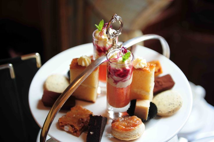 Afternoon tea at The Howard, Edinburgh - served by your own team of butlers! http://www.thehoward.com/