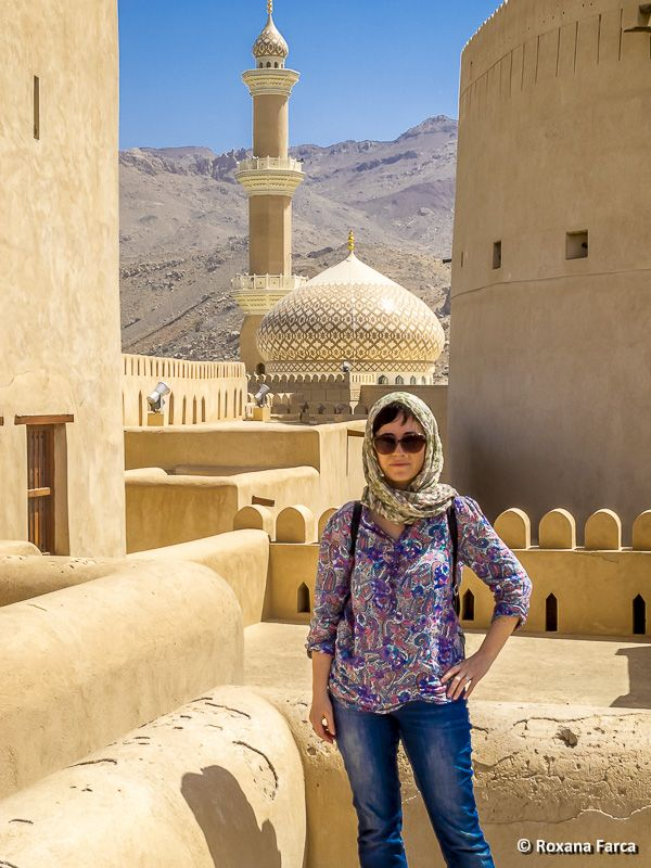 O cetate si o moschee Fortress and mosque in Nizwa