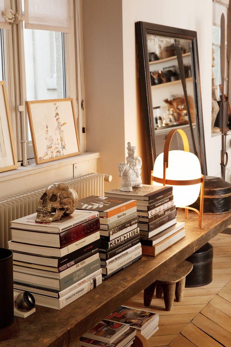 Chic Apartment in Lyon : At Home Designers Pierre Emmanuel Martin & Stéphane Garotin of Maison Hand. Decor Inspiration
