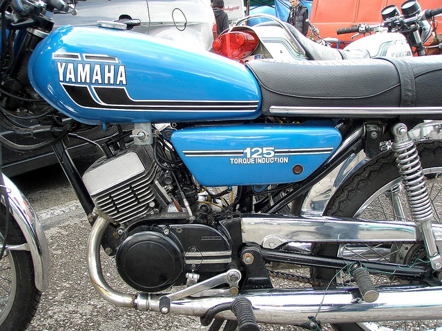 Yamaha RD 125 Torque Induction