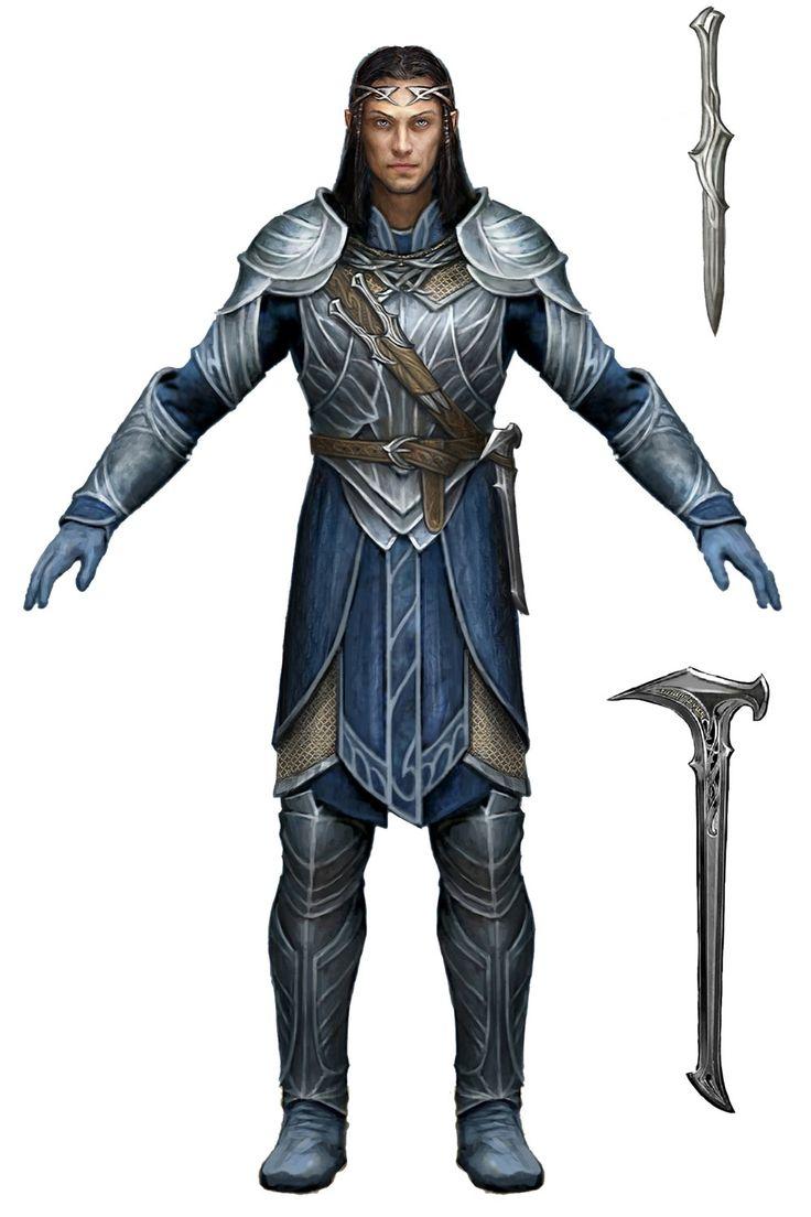 Celebrimbor, Fairform, Shadow of Mordor