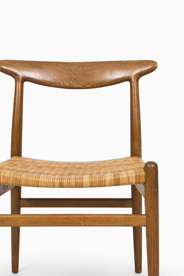 Hans Wegner dining chairs model W2 by C.M Madsen at Studio Schalling