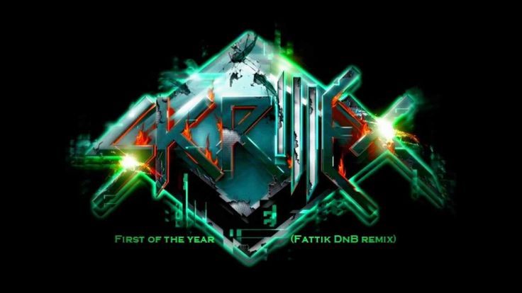 Skrillex - First of the year (Fattik DnB remix)