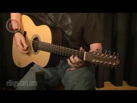 semi acoustic guitar solo instrumental guitar players& foot drumming Andrew Ellis (Indian Summer))