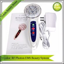 Non-Surgical RF Radio Frequency 7 Led Photon Rejuvenation Fat Burn CelluliteWrinkle  Reduction Skin Lifting Tightening Machine //Price: $US $92.88 & FREE Shipping //
