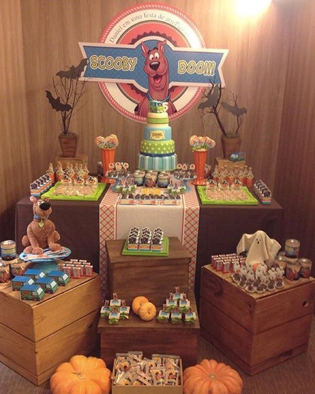 Festa bacana e divertida: Scooby Doo! Por @imaginescrap #kikidsparty