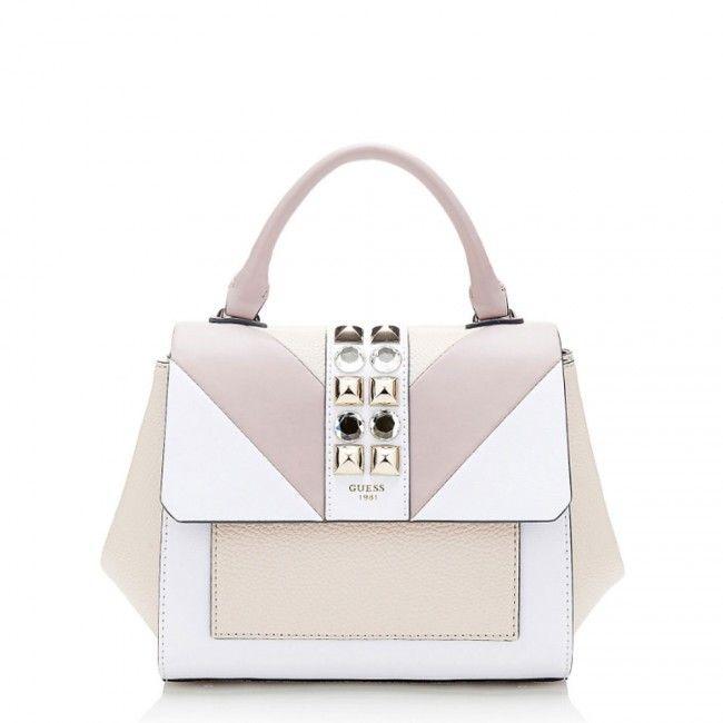 Guess Evette studs purse CP6416180 - #guess #bags #handbags #fashion #glamour #borse #women #donne #donna #moda #stile