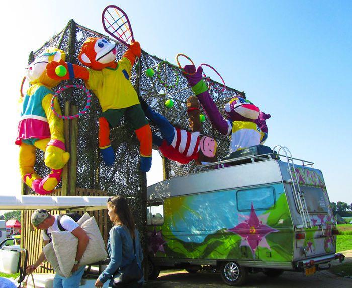 'Slingerapen' At Solar Weekend Festival