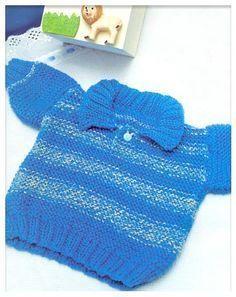 MATERIAL                 1 novelo Soft Azul cor 010 – Texin                 1 novelo Soft mescla cor 016 – Texin                 Agulhas par...