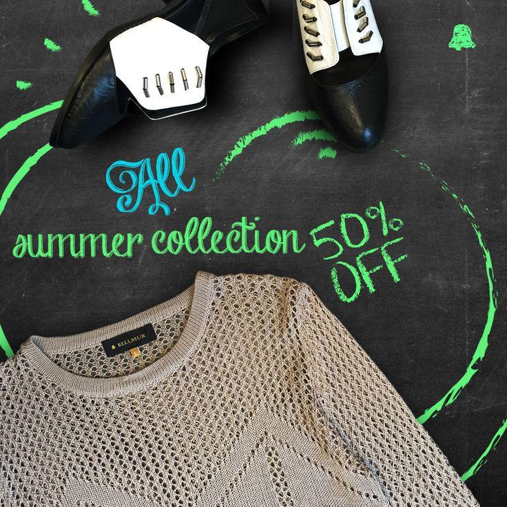 #SALE Countdown #Verano16  ¡#ÚltimosDías de nuestro SALE 50% OFF!   - Sweater Hilo // SWBELL106  - Mocasines Black & White // ZBELL130  Te esperamos en nuestro local de Montevideo Shopping