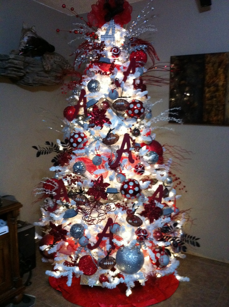 This Year I Will Be Adding An Alabama Christmas Tree To My Christmas Tree  Collection!