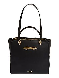TED BAKER Classic leather satchel