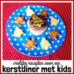 Vrolijk kerstdiner: recepten voor een kerstmenu met kinderen, Hoofdgerecht: Kinderkerstburger met aardappelsterren