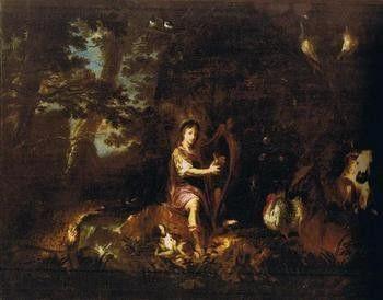 Willmann/ Orfeus hraje zvířatům