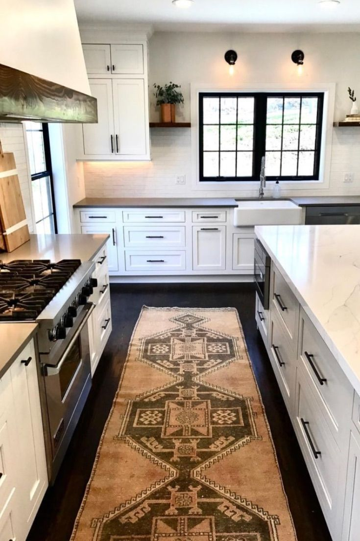 kitchen area rug ideas you've got to see in 2020 | kitchen