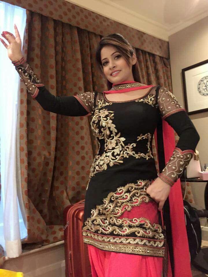 Miss Pooja  Salwarkameez  Punjabi Suits, Patiyala Suit -1464