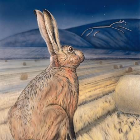 Joanna May's - Star Gazing Hare