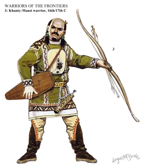 Khanty-Mansi warrior, 16th/17th century
